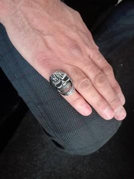 Ανδρικό ατσάλινο δαχτυλίδι shape