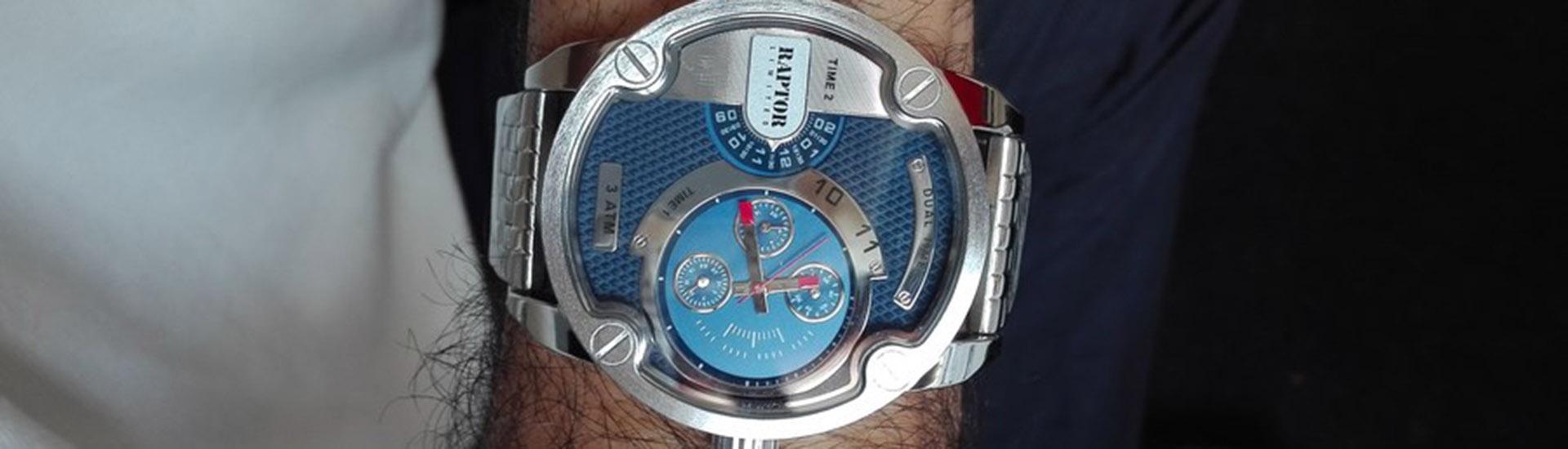 Ρολόι... η ανδρική γοητεία!